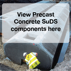 View Precast Concrete SuDS components here