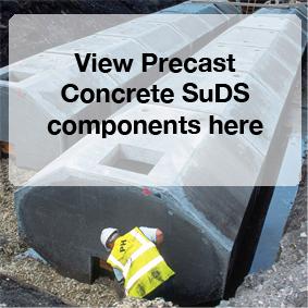 View Precast Concrete SuDS components here