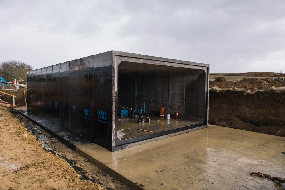 FP McCann's Northamptonshire housing development box culverts may be the largest ever to be manufactured in Britain