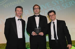 CPSA congratulates Inventer Drive Systems and Anglian Water at Water Industry Achievement Awards 2013
