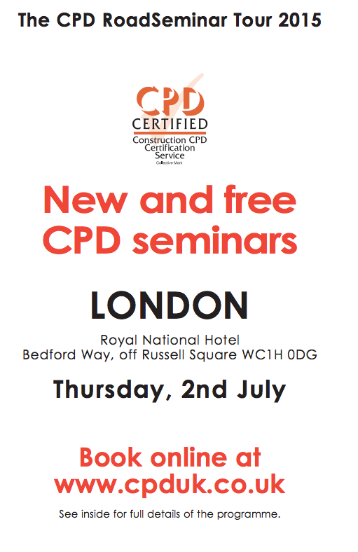 CPD Seminar, Royal National Hotel, London