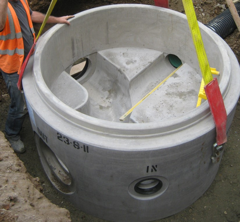 BPDA publishes a new pocket guide for concrete manhole installation