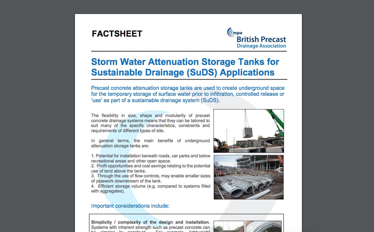 Attenuation Tank Factsheet