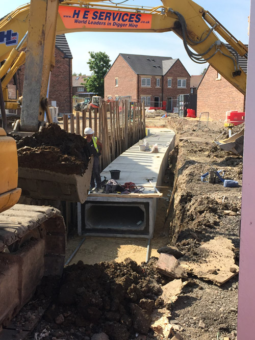 FPMcCann precast concrete culverts enable innovative surface water drainage solution